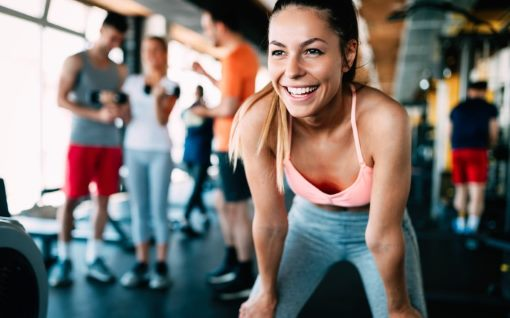 Exercising helps the release of endorphins