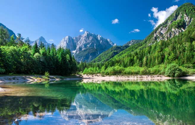 Enjoy the joy of the Alps, without the crowds, at the Julian Alps in Slovenia